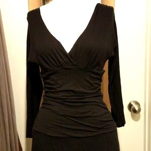 Velvet by Graham & Spencer Dresses - VELVET by Graham & Spencer Ruched Midi Dress